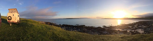 Nähe dem Örtchen Opinan in der Gruinard Bay ausgesucht, schöner kann man fast nicht übernachten