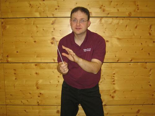 Dirigent der Spielgemeinschaft Hütschenhausen