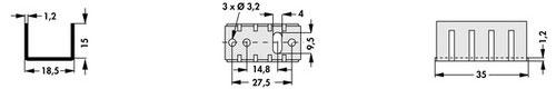 ICK35SA TO-220パッケージ用ヒートシンク
