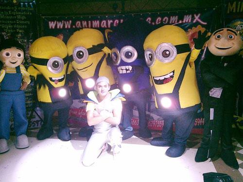 Show infantil de los minions shows infantiles animarcianos for Espectaculo gru y sus minions