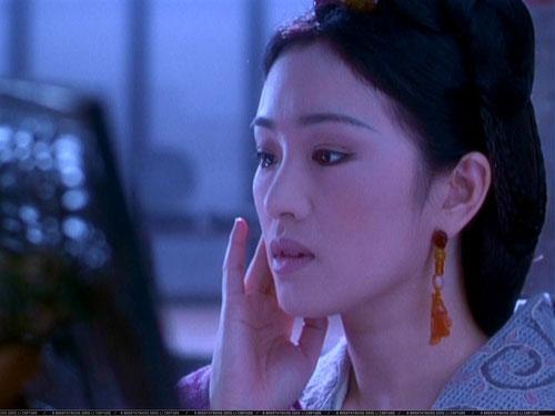 La sublime Gong Li dans L'EMPEREUR ET L'ASSASSIN de Chen Kaige (2001)(©Pathé Ditribution)