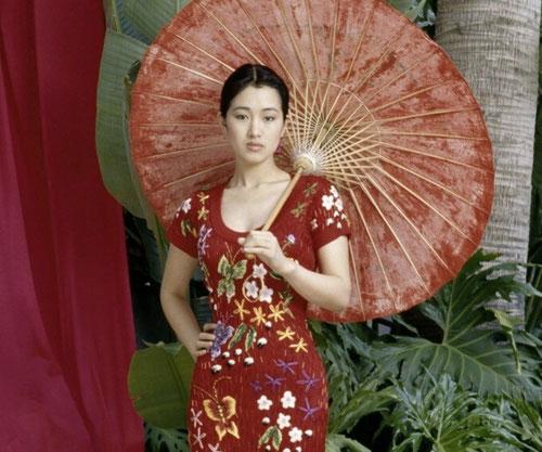 La sublime Gong Li au début de sa carrière (©DR)