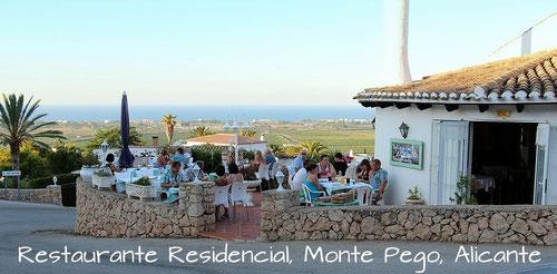 Restaurante Residencial, Monte Pego, Alicante, Spain