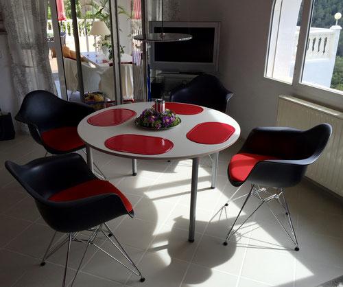 Ferienwohnung Valencia, Wohnzimmer, neue Sessel