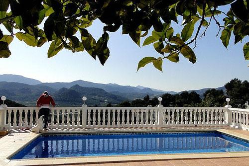 Balustraden, Ferienwohnung Valencia
