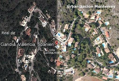 Urb. Monterrey, Bildquelle: Google Earth