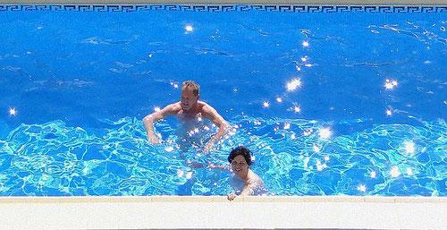 Norbert und Ilona Pieper, 2012 in der Ferienwohnung Valencia, Spanien, Bildquelle: (c) Ilona und Norbert Pieper Bild zum Kommentar über die Fewo