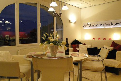 Ferienwohnung Valencia, Villa Gandia Hills, Wohnzimmer der Ferienwohnung