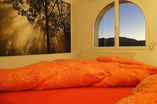 Schlafzimmer der Fereinwohnung Valencia, 2012