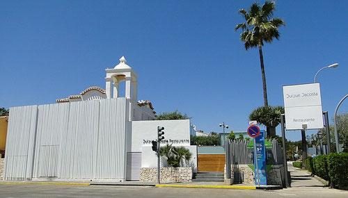 Restaurante Quique Dacosta, Denia, Alicante im Mai 2012