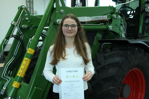 Anna Hornung aus Wangerland, Ausbildungsbetrieb: GPS Wilhelmshaven