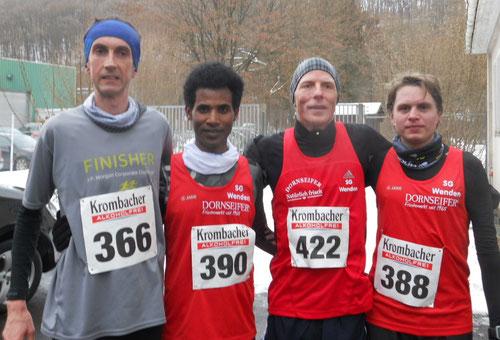 Stefan Groß, Eyob Solomun, Jörg Heiner, Fabian Jenne
