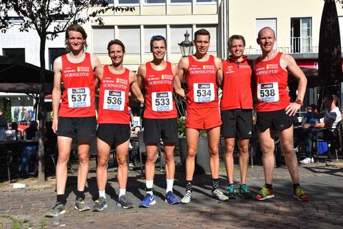 v.l.: Nils, Markus, Jonas, Simon, Fabian, Thomas
