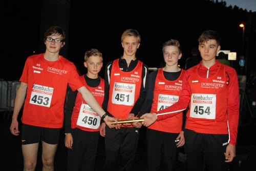 Nils Wehner, Matteo Langenbach, Alexander Lind, Frederik Wehner, Daniel Trinkner