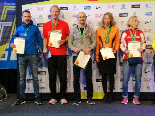 Archivbild: Halbmarathon DM 2019