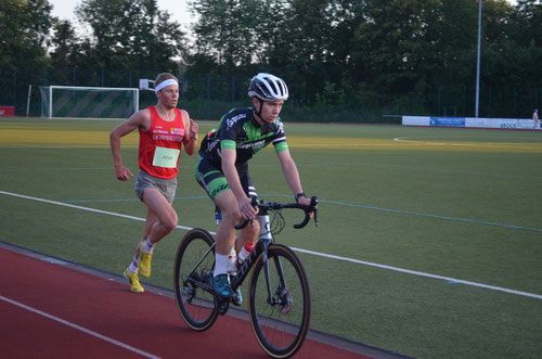 Jonas Hoffmann, hier beim 5000m-Test vor zwei Wochen