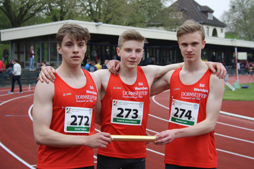 Daniel Trinkner, Frederik Wehner, Alexander Lind