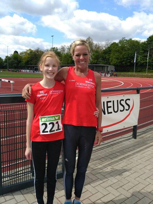Carolin Schmidt und Christl Dörschel