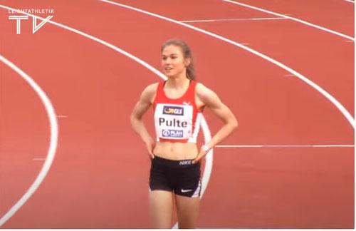 Johanna Pulte kann sich wieder die Goldmedaille umhängen