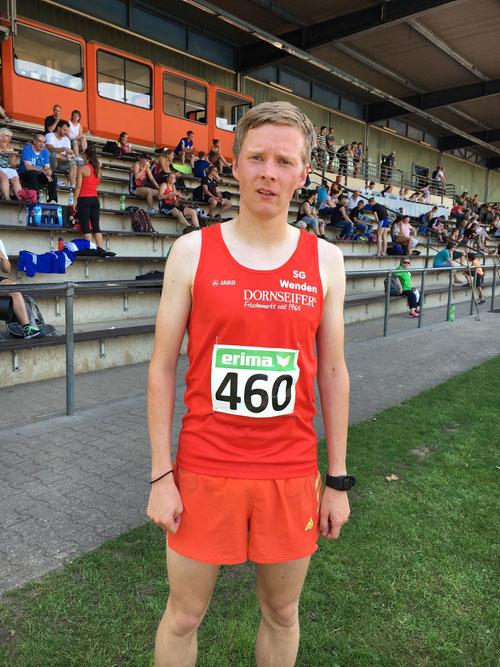 Marco Giese, Sieger über die 5000m von Bergisch-Gladbach