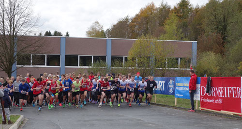 Start des 5km-Laufs