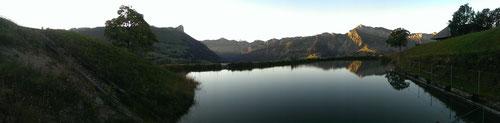 Panoramaaufnahme Lochsitli-See 3.9.13