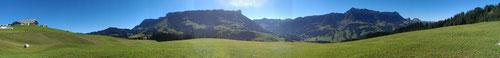 Panorama auf dem Feld 3.9.13