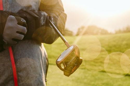 Golf Werbemittel, Pitchgabel bedrucken, Golfbälle bedrucken, Pitchfix bedrucken, Golfhandtuch, Schlägerhauben, Golfartikel bedrucken