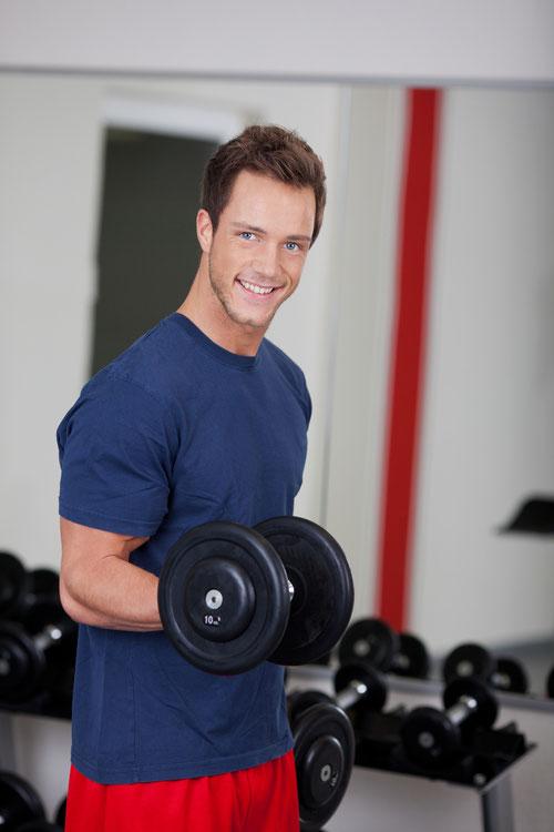Muskelaufbau im Vitalis Zentrum