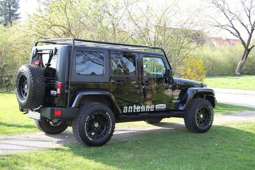 Jeep Wrangler Unlimited Exzenter Poliermaschine