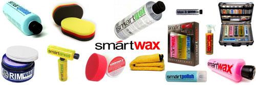 Smartwax Gesamtsortiment Autopflegemittel