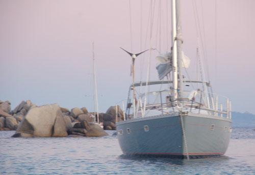 vor Lavezzi, zwischen Korsika und Sardinien