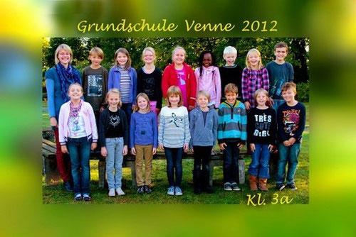 Klasse 3a mit Frau Melle im Oktober 2012