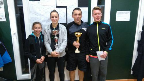 Nina Radovanovic, Dana Radovanovic, Christophe Barsus, Thomas Danvin