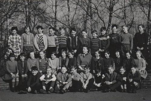 Klassenfoto von 1958