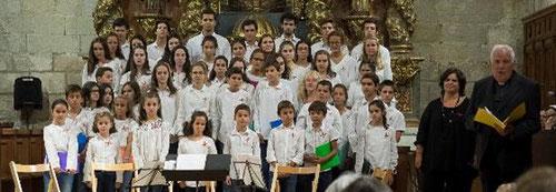 Coro de niños y jóvenes de Amigos de Buenafuente, 14 de septiembre de 2019
