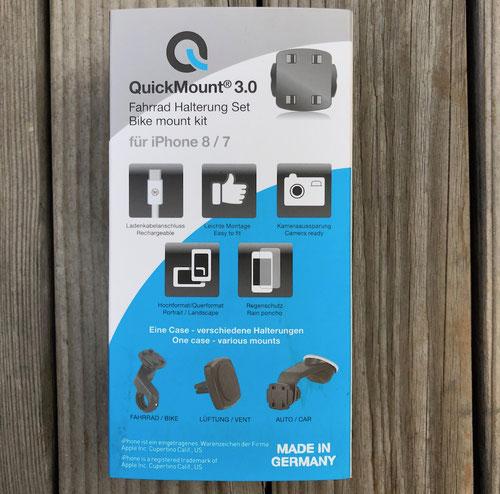 Wicked Chili QuickMount 3.0, Smartphone-Halterung fürs Fahrrad