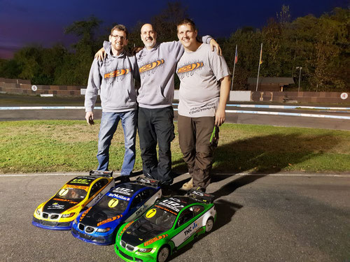 RS5 Team TNC nach einem erfolgreichem Rennen