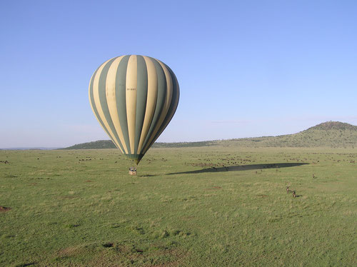 Ballon Safari in der Serengeti