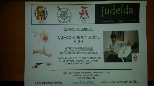 HORARIO ACTIVIDADES CLUB JUDELDA