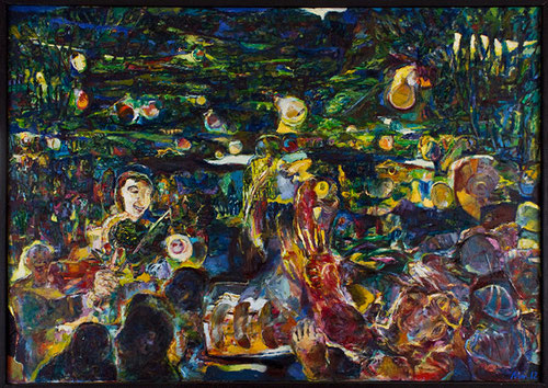 Mittsommer, 2012, Öl auf Leinwand 100x140