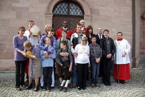 Firmung 24.09.2010 in Regens Wagner Zell