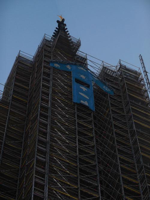 Der höchste Kirchturm Hamburgs