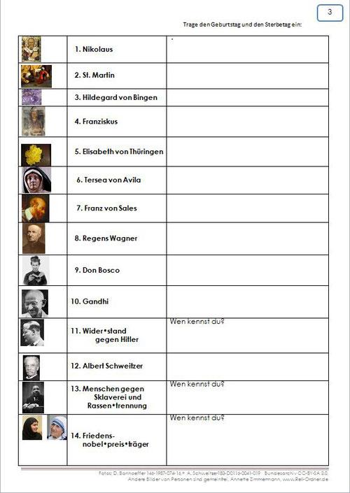 Inhaltsverzeichnis Themenbereich 3