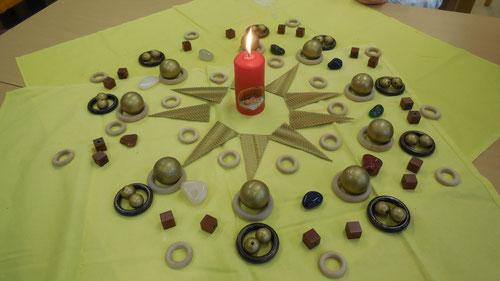 Mandala: Jesus ist das Licht für die Welt