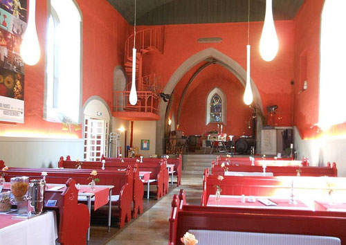 Aegidienkirche, jetzt Cafe´, Wikipedia, Rabanus Flavus