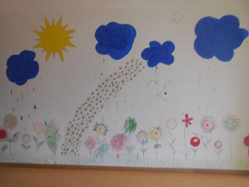 Unsere Jesaja-Wand