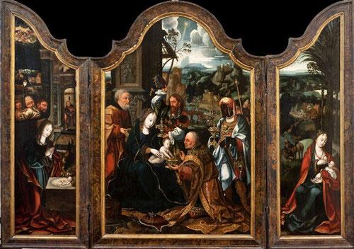 Tríptico de la Adoración de los Magos, Catedral-Magistral de Alcalá de Henares