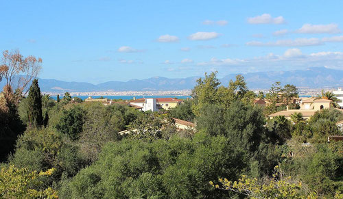 Blick vom Balkon aufs Meer, Apartment 2, El Mar