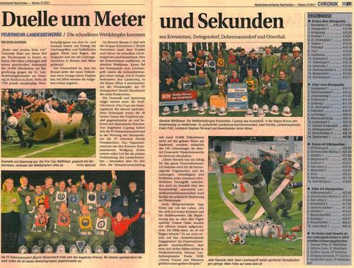 Bericht aus der NÖN, Woche 27/2011